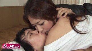 [OURSHDTV][中文字幕]Risa Misaki in sweater got a creampied sex uncensored